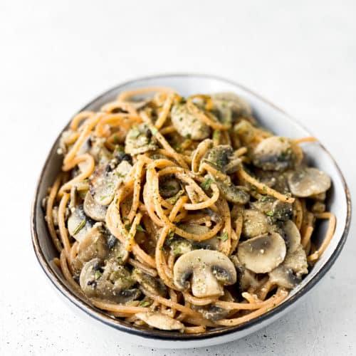 Spaghetti Funghi