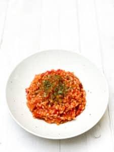 Tomaten-Risotto
