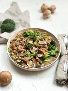 Brokkoli-Pilz-Pasta