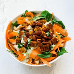 Avocado-Birnen-Salat